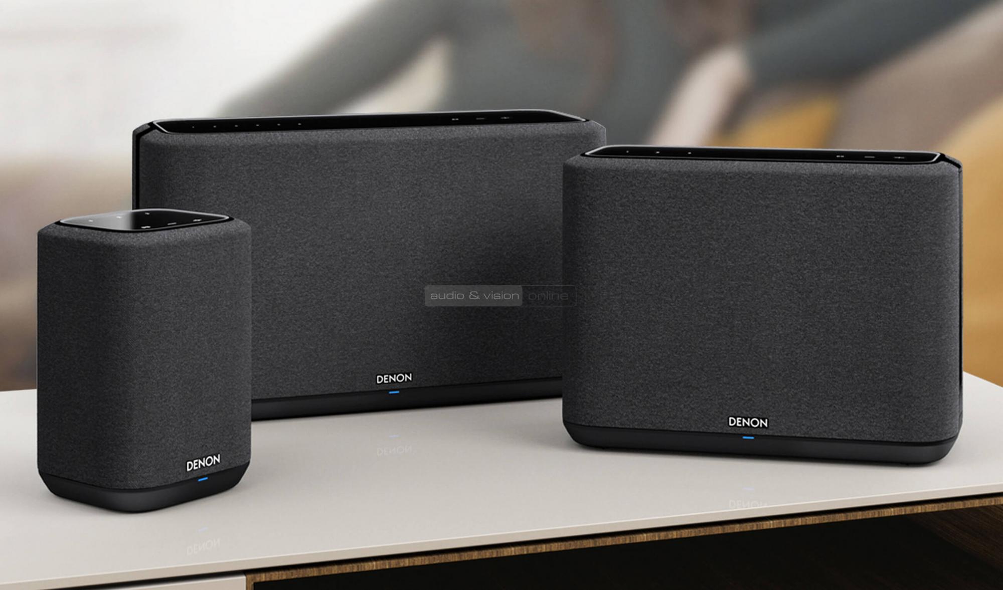 Denon Home 250 és Home 150 vezeték nélküli hangszóró teszt