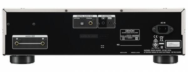 Denon DCD-1600NE CD-lejátszó hátlap