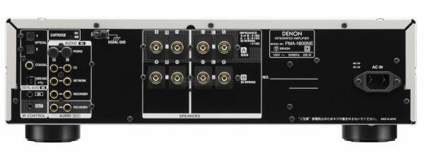 Denon PMA-1600NE integrált sztereó erősítő hátlap
