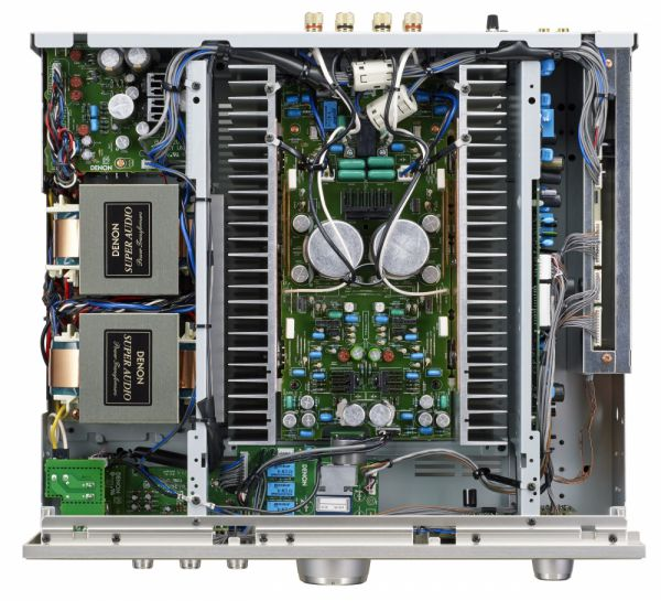 Denon PMA-1600NE integrált sztereó erősítő belső