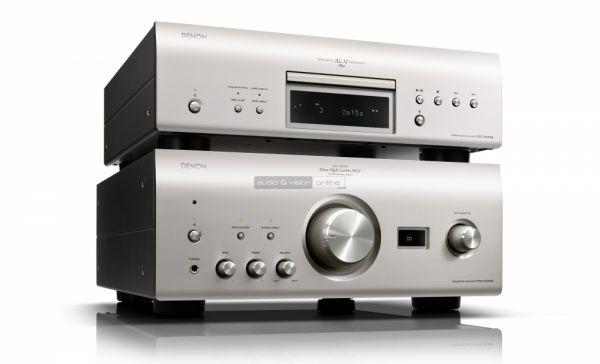 Denon PMA-2500NE integrált sztereó erősítő és DCD-2500NE CD-lejátszó teszt szett