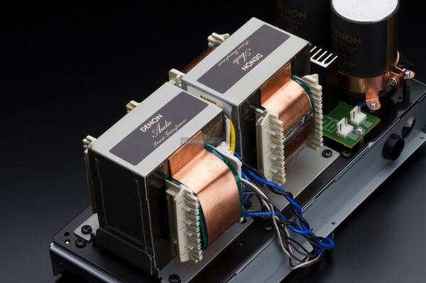 Denon PMA-2500NE integrált sztereó erősítő és DCD-2500NE CD-lejátszó teszt transzformátor