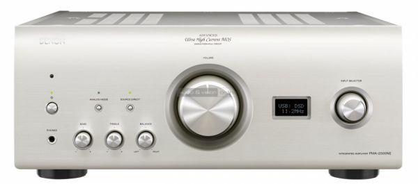 Denon PMA-2500NE integrált sztereó erősítő és DCD-2500NE CD-lejátszó teszt szembol