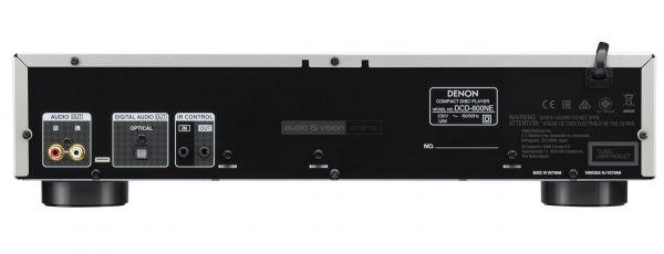 Denon DCD-600NE CD-lejátszó hátlap