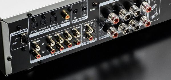 Denon PMA-800NE sztereó erősítő hátlap