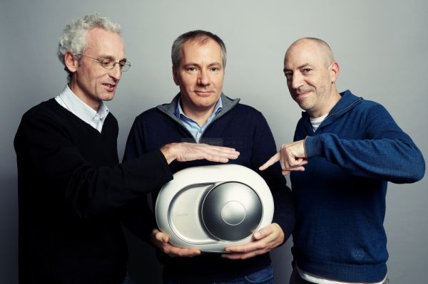 Pierre-Emmanuel Calmel, Quentin Sannié, Emmanuel Nardin a Devialet Phantom-mal