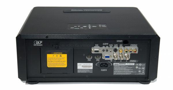 Digital Projection M-Vision Cine 260 1080p HC házimozi projektor hátlap