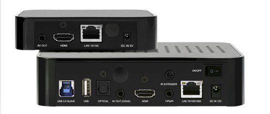 HDI Dune HD TV-301 és TV-101 média lejátszó hátlap