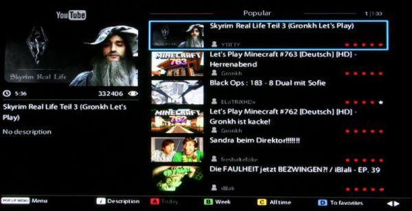 HDI Dune HD TV-301 média lejátszó YouTube