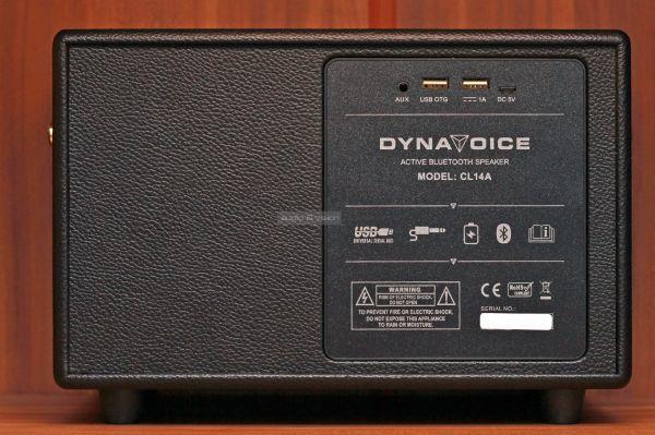 Dynavoice Classic CL-14A Bluetooth hangszóró hátlap