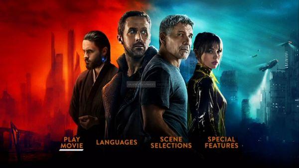 Egreat A11 Blade Runner DVD menü