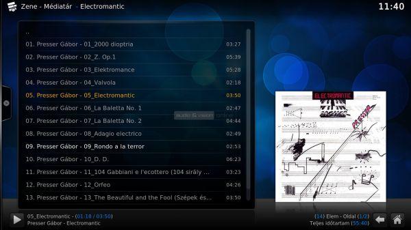 Egreat A11 zenelejátszás