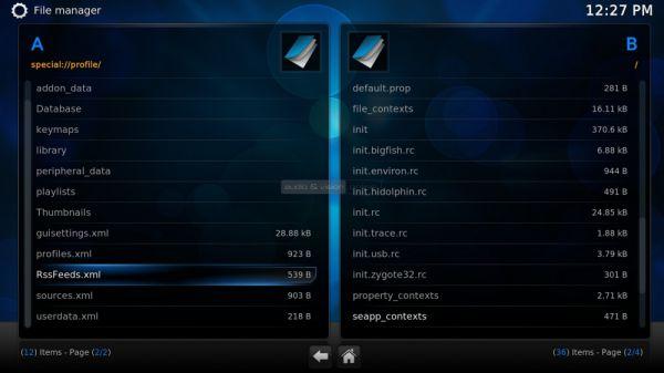 Egreat A5 médialejátszó file manager