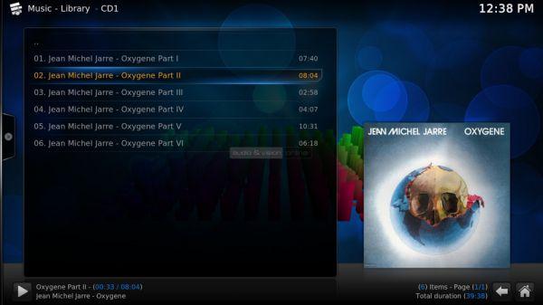 Egreat A5 médialejátszó Kodi music player