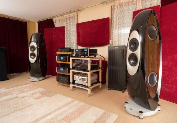 ELAC Concentro high end hangfal az Audiophile Szalonban
