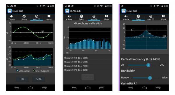 ELAC Sub Control App