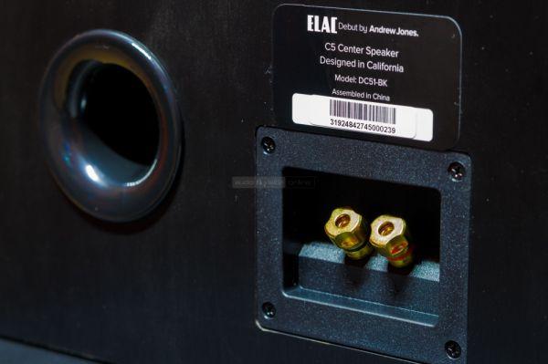 ELAC Debut C5 centersugárzó