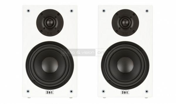 ELAC BS 73 állványos hangfal fehér színben