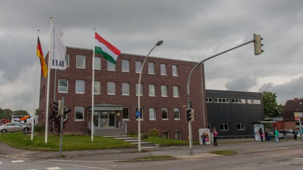ELAC gyár Kielben