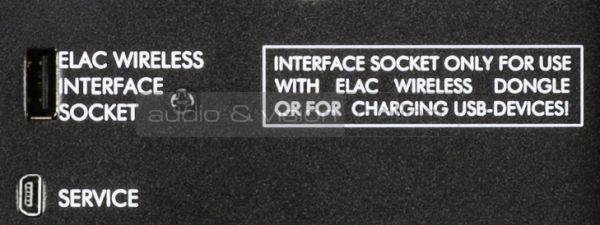 ELAC SUB 2090 aktív mélyláda Wireless Interface