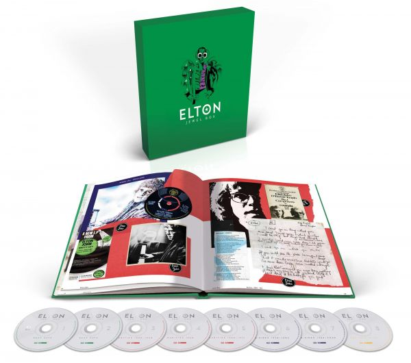Elton John Jewel Box CD