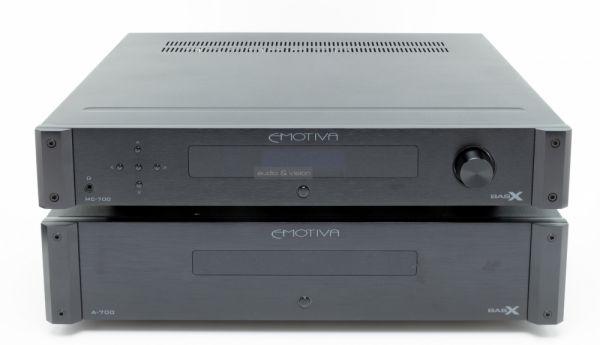 Emotiva MC-700 házimozi processzor és A-700 hétcsatornás végfok