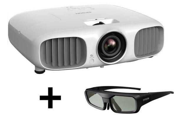 Epson EH-TW6100W 3D házimozi projektor és 3D szemüveg