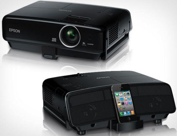 Epson MegaPlex MG-850HD iPod dokkolós projektor