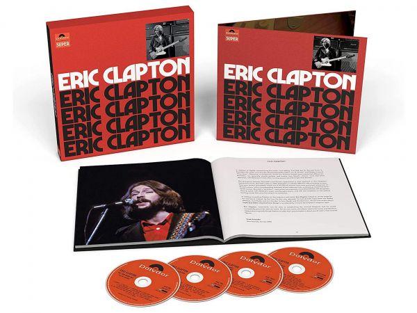 Eric Clapton 4 CD box