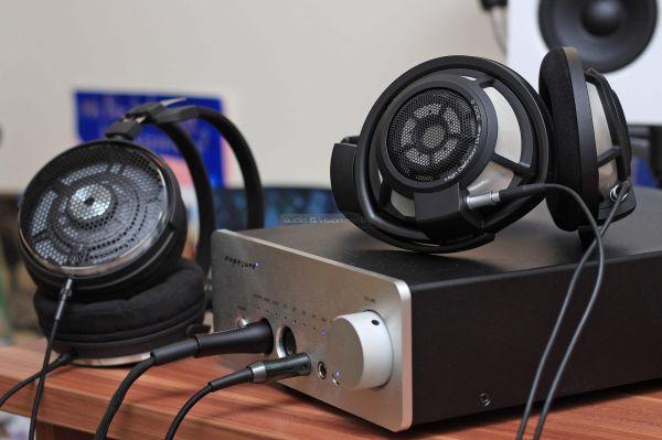 Exposure XM HP fejhallgató erősítő Sennheiser Audio-Technica