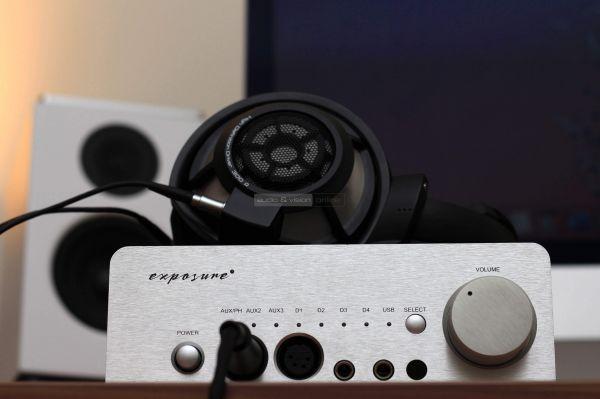 Exposure XM HP fejhallgató erősítő Sennheiser HD 800 S