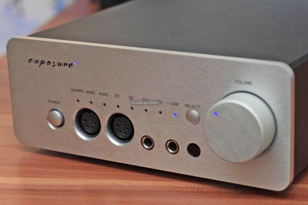 Exposure XM HP fejhallgató erősítő