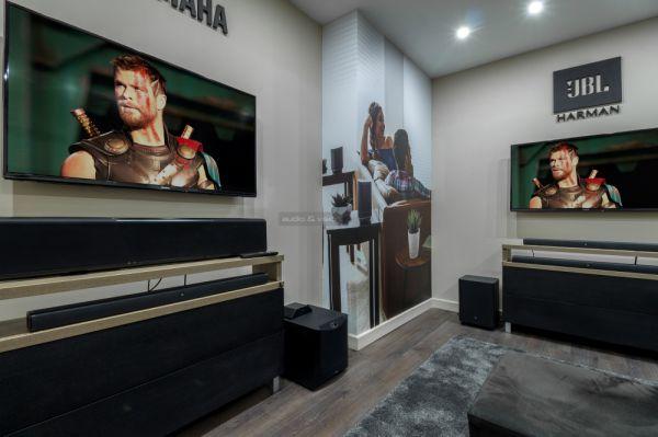 Extreme Audio soundbar szoba