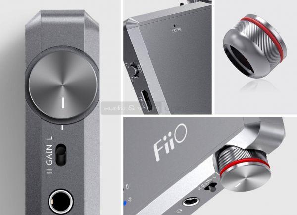 FiiO A5 fejhallgató erősítő