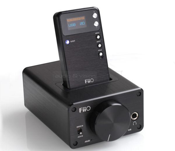 FiiO E09K fejhallgató erősítő és E17 Alpen mobil DAC