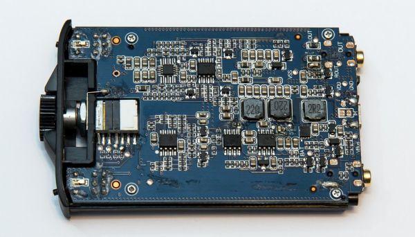 FiiO E11K fejhallgató erősítő belső