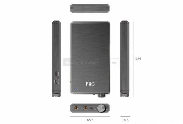 FiiO E12A for IEM hordozható fejhallgató erősítő méretei