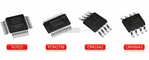 FiiO E18 Kunlun USB DAC és fejhallgató erősítő hardware