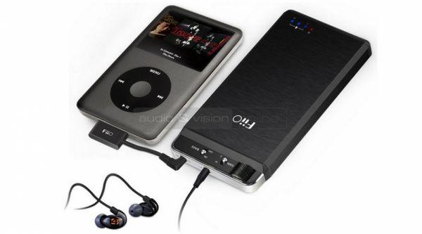 FiiO E18 Kunlun USB DAC és fejhallgató erősítő iPoddal