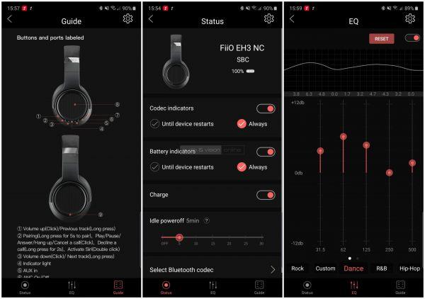 FiiO EH3NC App