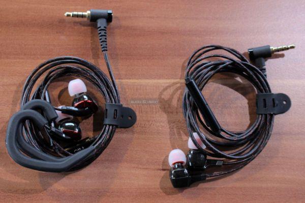 FiiO F1 és FiiO F3 fülhallgatók
