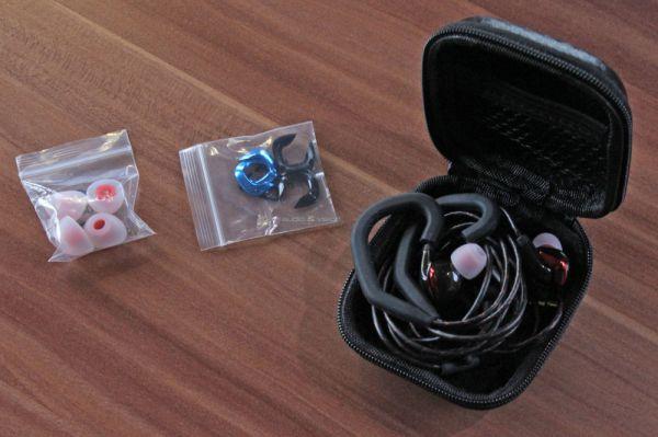 FiiO F3 fülhallgató tartozékok