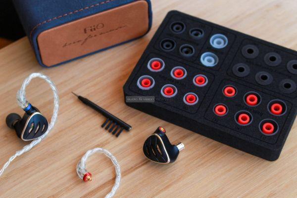 FiiO FH5s fülhallgató tartozékok