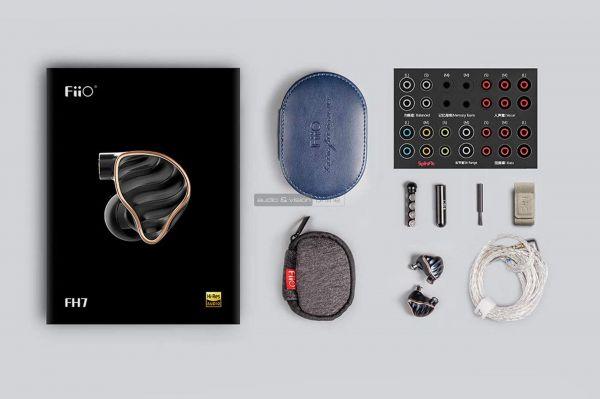 FiiO FH7 fülhallgató tartozékok