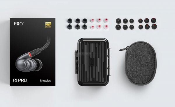FiiO F9 PRO fülhallgató tartozékok