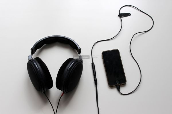 FiiO i1 iPhone DAC és Sennheiser HD 600 fejhallgató