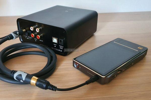 FiiO K5 Pro fejhallgató erősítő FiiO X7 MarkII
