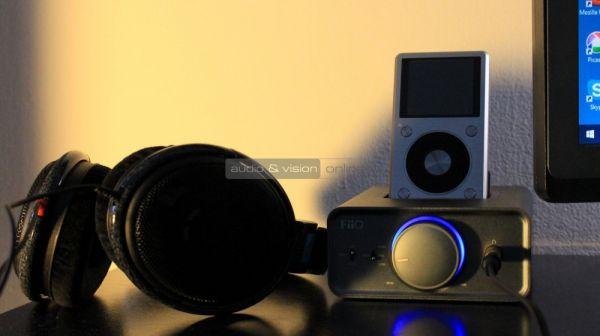 FiiO K5 fejhallgató erősítő és Sennheiser HD 600 fejhallgató