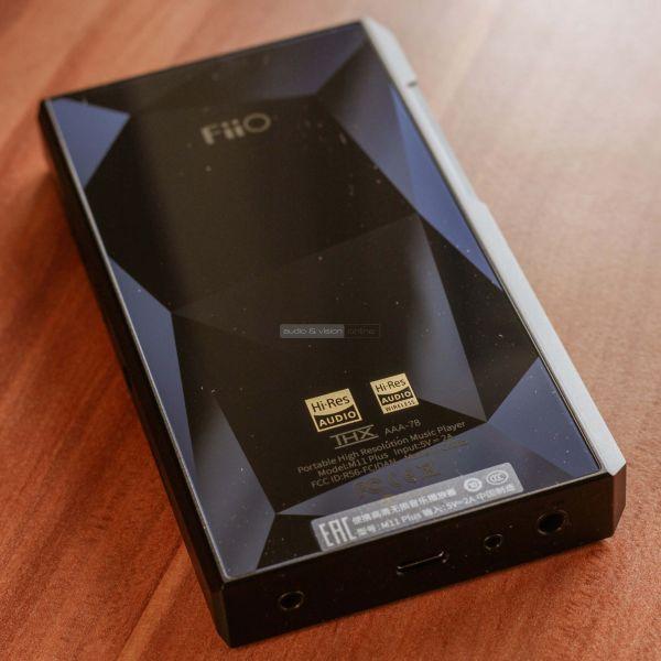 FiiO M11 Plus LTD hordozható zenelejátszó hátlap