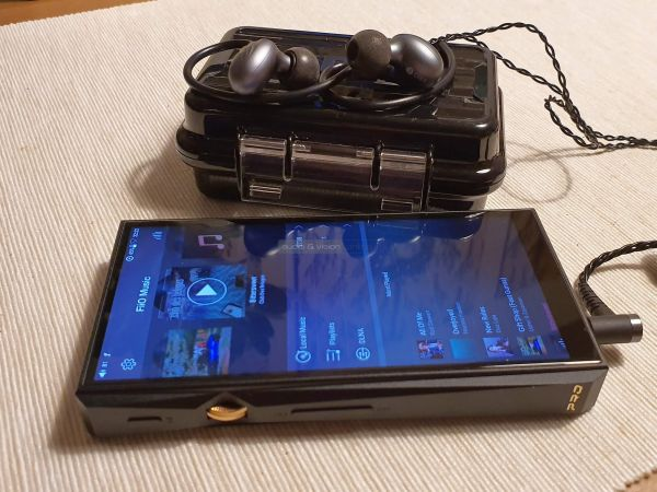FiiO M11 Pro mobil zenelejátszó